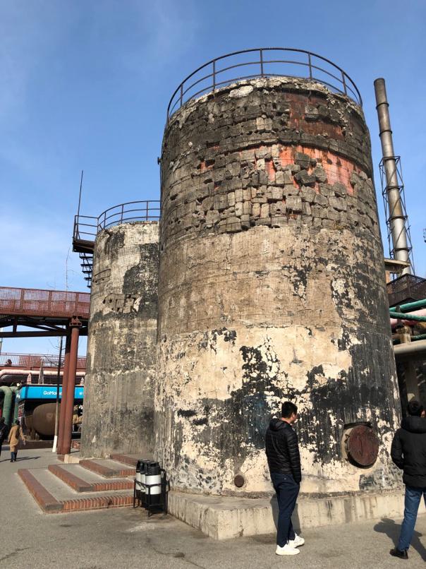 工場跡地の廃墟