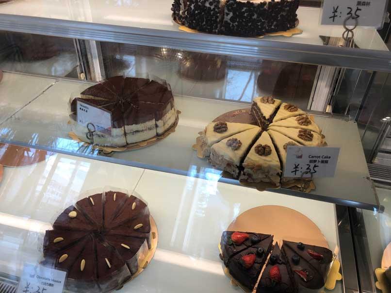 並ぶケーキ