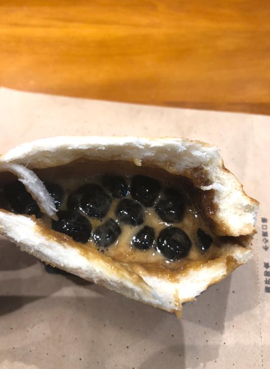 タピオカホットサンド(珍珠奶茶爆料吐司)