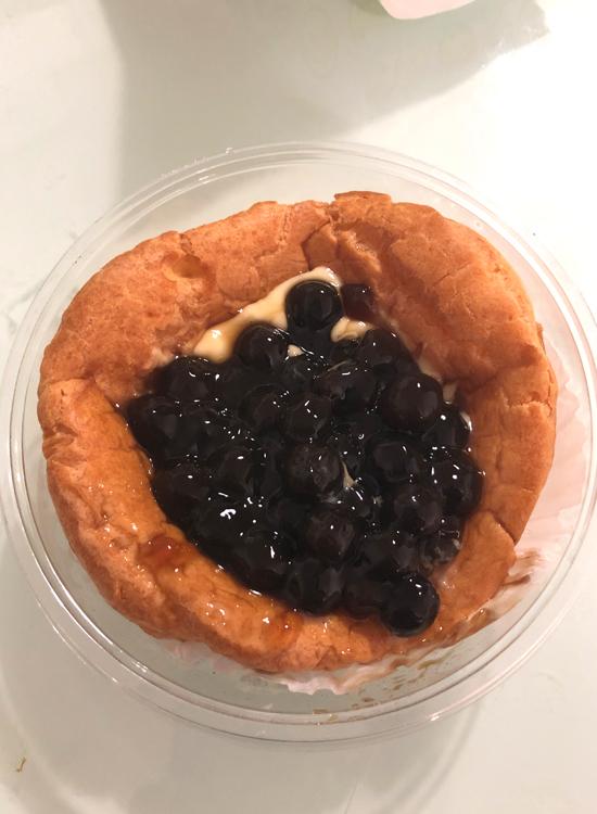 黑豆布丁软泡芙デニッシュパン