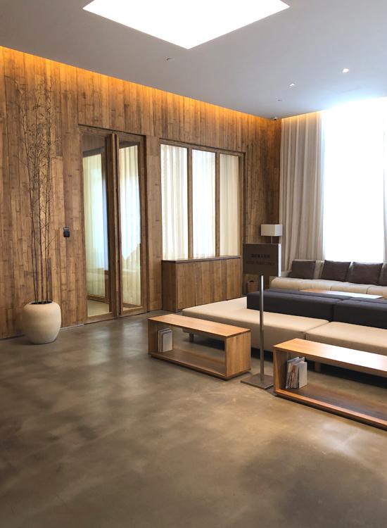 MUJIホテル北京ビジネスラウンジ