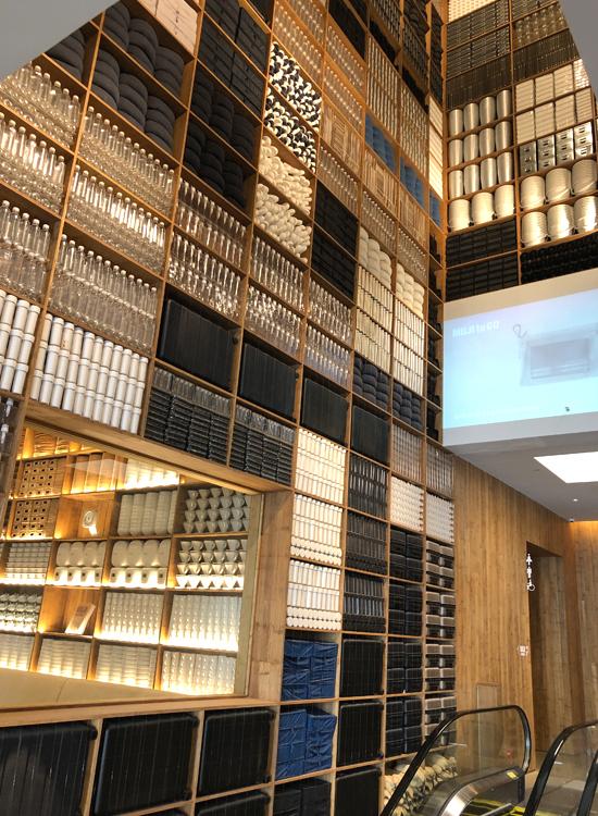 MUJIホテル北京ディスプレイ写真