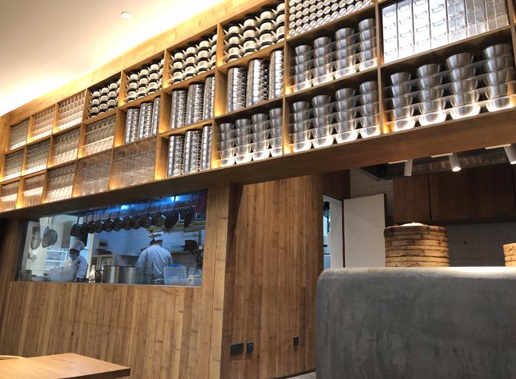 MUJIホテル北京「café&meal MUJI」