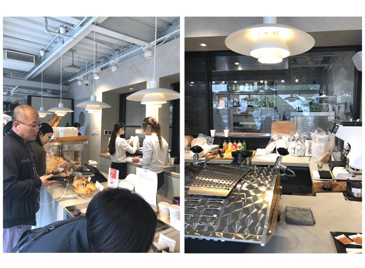 ドットコムベーカリーdotco bakery 古店面包 店舗内