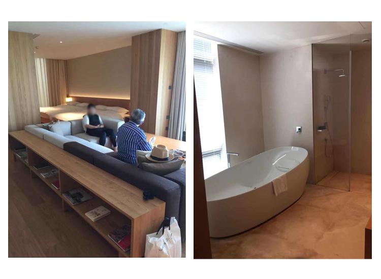 MUJIホテルスイート部屋写真その1