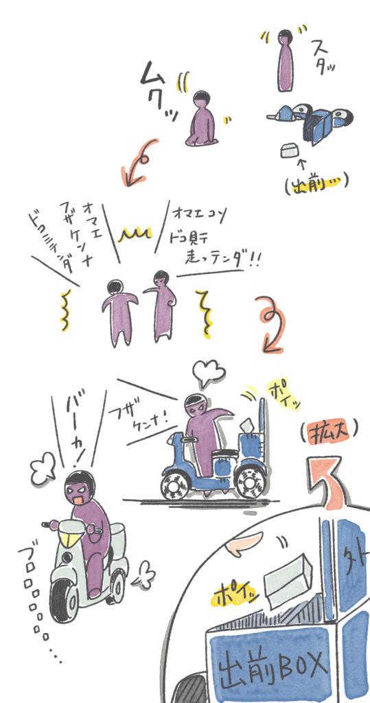 ある日の交通事故目撃談